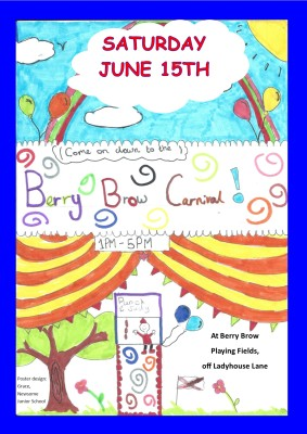 Berry Brow Carnival poster