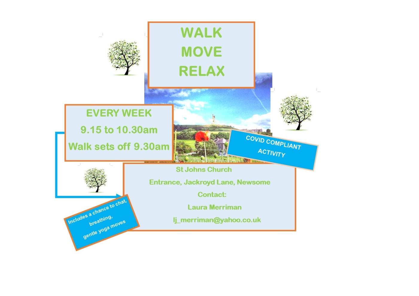Move, walk, relax